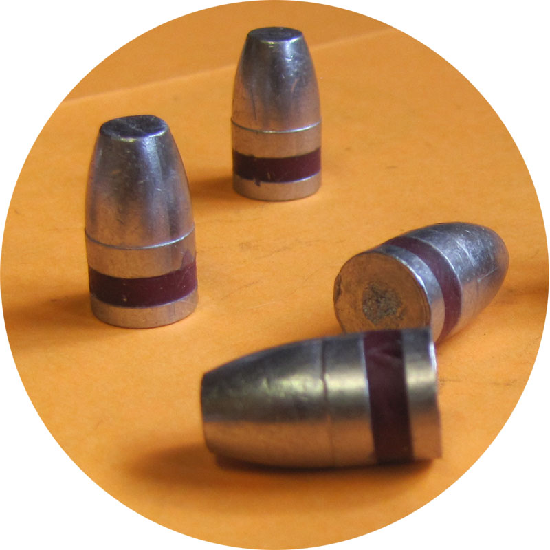 140gr lead Flat Point Bulletls 9mm