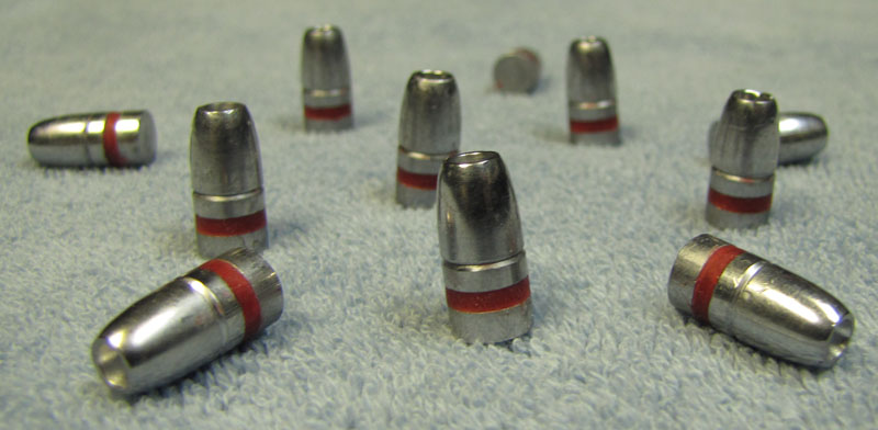 30 caliber 115 grain hollow point round nose lead bullets - Click Image to Close