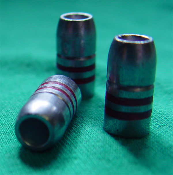 185 grain Hollow Point bullet, Heavy Weight 38