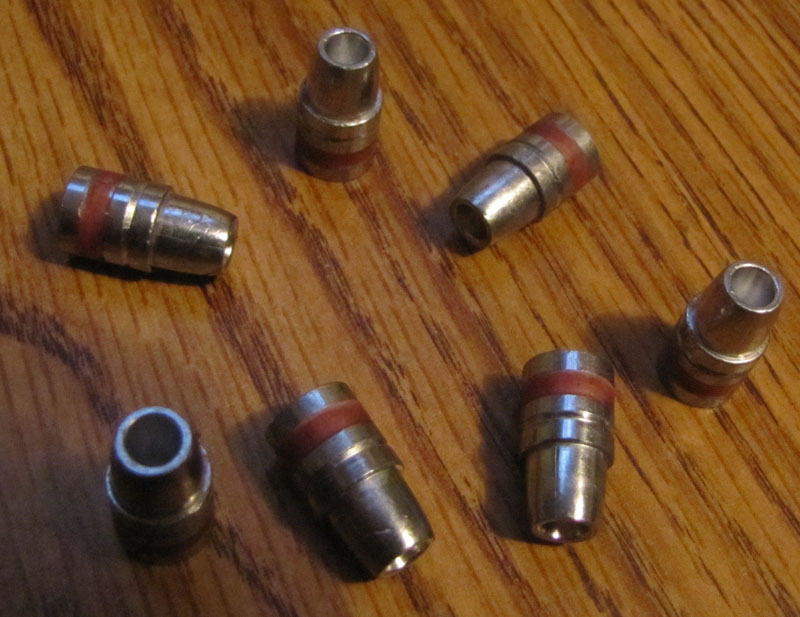 215gr LSWC Hollow Point bullets 41 caliber