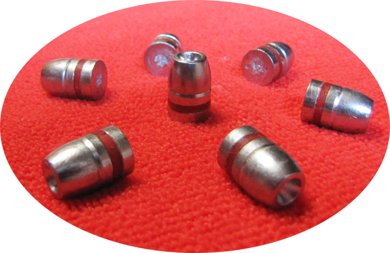 44 caliber 220gr Hollow Point cast lead bullets