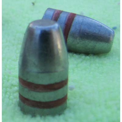147gr lead Flat Point Bulletls 9mm