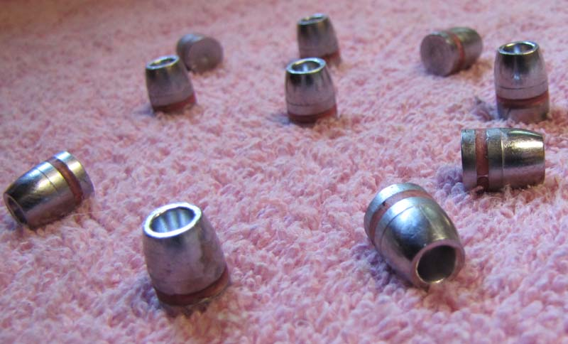 40 cal - 10mm 140gr lead Hollow Point bullets