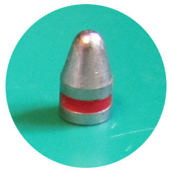 9mm 115gr LRN cast lead bullets Plain Base